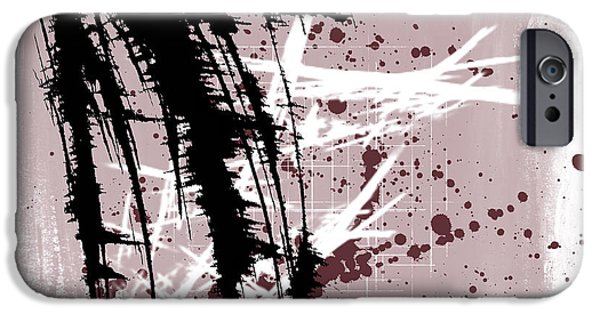 Abstract Digital Mixed Media iPhone Cases - I Have to Believe iPhone Case by Melissa Smith