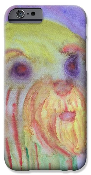 Sweating Paintings iPhone Cases - I have walked iPhone Case by Hilde Widerberg
