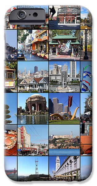 Baseball Stadiums iPhone Cases - I Left My Heart In San Francisco 20150103 vertical with text iPhone Case by Wingsdomain Art and Photography