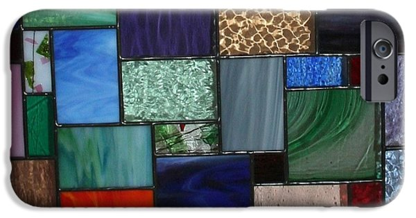 Close Up Glass iPhone Cases - I Love Glass iPhone Case by Marsha Painter