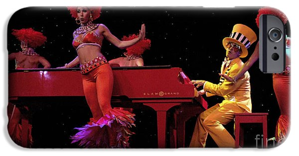 Elton John iPhone Cases - I Love Rock And Roll Music iPhone Case by Bob Christopher