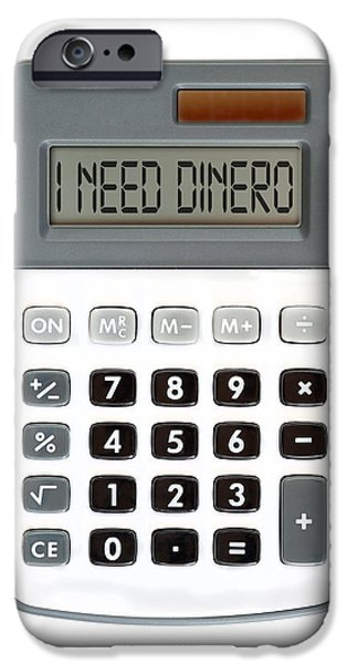 I need dinero iPhone Case by Michal Boubin