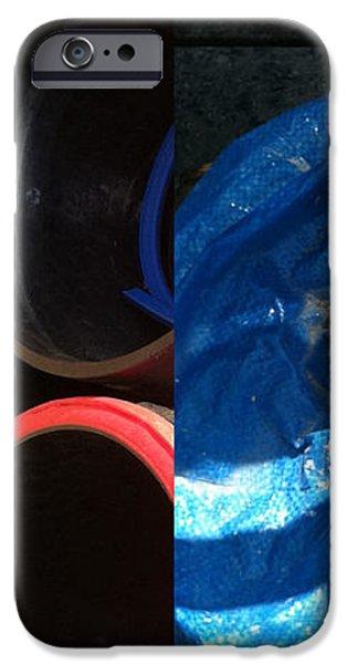 I saw a circular saw iPhone Case by Marlene Burns