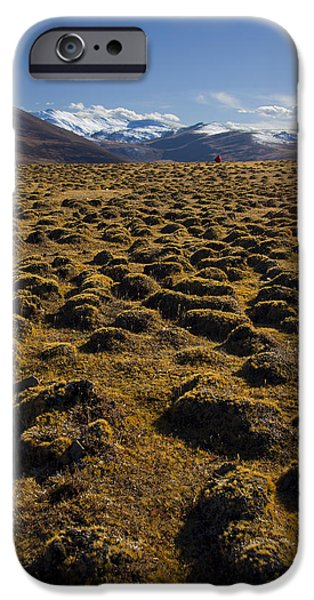 Mounds iPhone Cases - I See Red iPhone Case by Aaron S Bedell