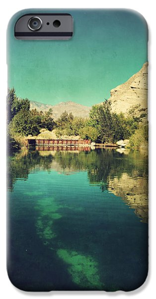 Fish Pond iPhone Cases - I See Right Through iPhone Case by Laurie Search