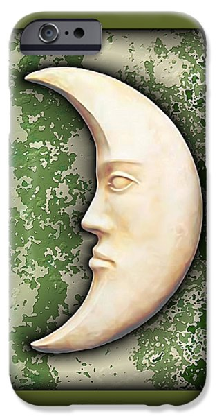 I See The Moon 3 iPhone Case by Wendy J St Christopher