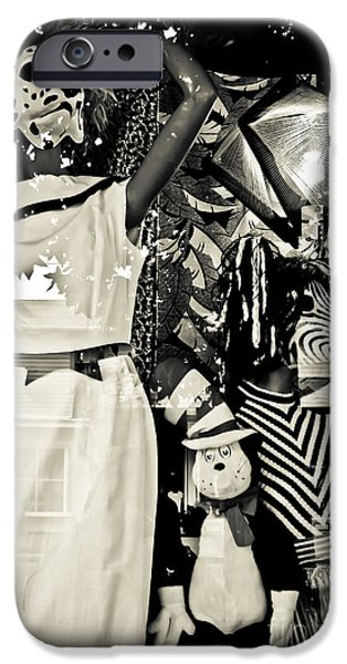 Toy Store Photographs iPhone Cases - I Spy with my Little Eye iPhone Case by Colleen Kammerer