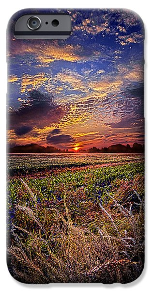 Winter Storm iPhone Cases - I want to Dance to the Static on an AM Radio iPhone Case by Phil Koch