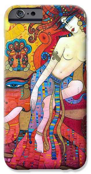 Albena iPhone Cases - I Was Beautiful iPhone Case by Albena Vatcheva