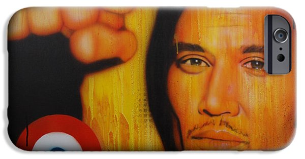 Ben iPhone Cases - I Will Look the World Straight in the Eye iPhone Case by Christian Chapman Art