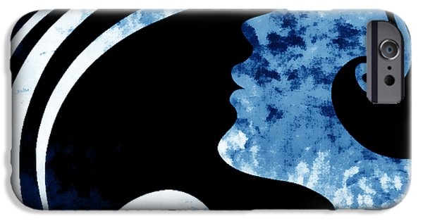 Inner Self iPhone Cases - I Will Wait For You 2 iPhone Case by Angelina Vick