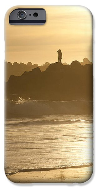 I Will Wait for You Forever iPhone Case by Artist and Photographer Laura Wrede