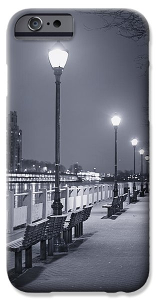 Night Lamp iPhone Cases - I Wonder As I Wander iPhone Case by Evelina Kremsdorf
