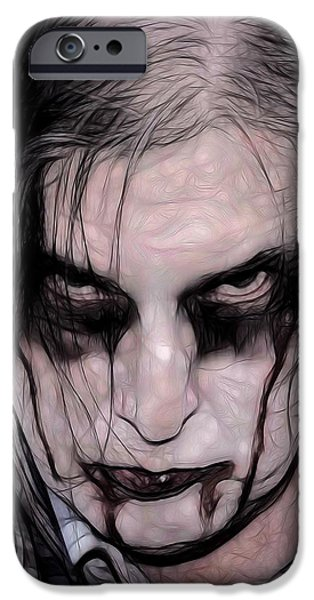 Dawn Of The Dead iPhone Cases - I Zombie iPhone Case by Jon Volden