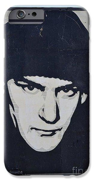 Ian MacKaye iPhone Case by Allen Beatty