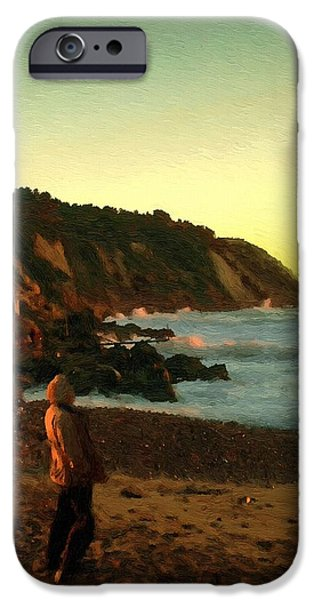 Figure iPhone Cases - Ibiza Sunset iPhone Case by RC deWinter