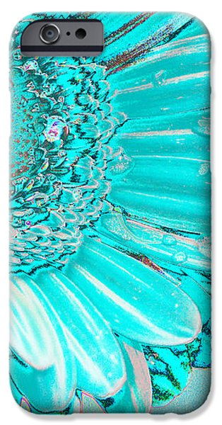 Ice blue iPhone Case by Carol Lynch