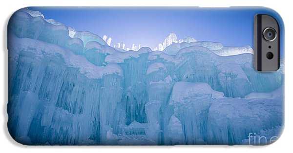 Fury iPhone Cases - Ice Castle iPhone Case by Edward Fielding