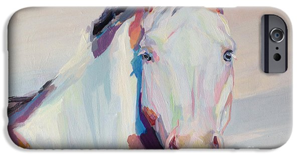 Medicine Paintings iPhone Cases - Ice iPhone Case by Kimberly Santini