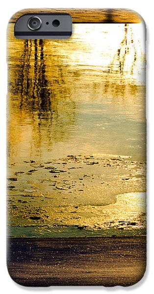 Ice On The River iPhone Case by Bob Orsillo