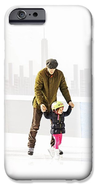 Recently Sold -  - Bonding iPhone Cases - Ice skating iPhone Case by Nishanth Gopinathan
