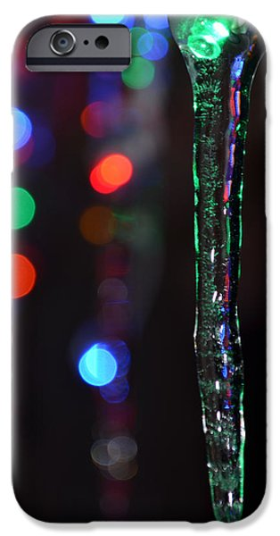 Winter In Maine iPhone Cases - Ice Storm Christmas  iPhone Case by Ken DErrico