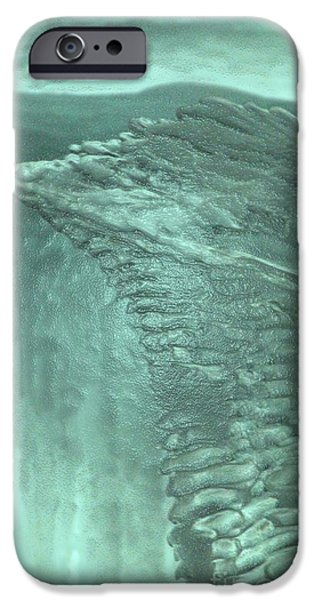 Feile Case Mixed Media iPhone Cases - Ice Wing iPhone Case by Feile Case