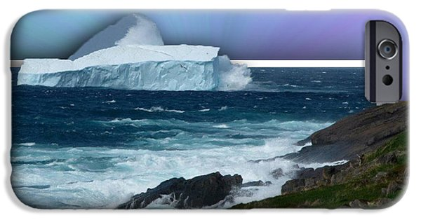 Recently Sold -  - Final Resting Place iPhone Cases - Iceberg Escape iPhone Case by Barbara Griffin