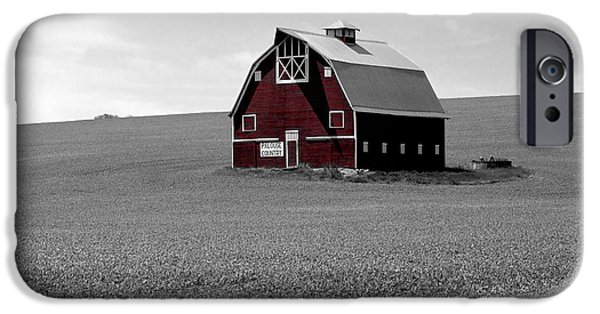 Airbrush iPhone Cases - Icon of the Palouse iPhone Case by Sharon Elliott