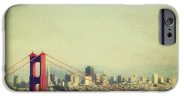 Sight Seeing San Francisco iPhone Cases - Iconic iPhone Case by Jennifer Ramirez