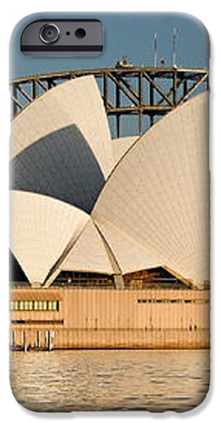 Icons One and Two - Sydney Australia. iPhone Case by Geoff Childs