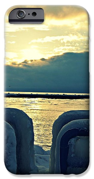 Icy Path iPhone Case by Dawdy Imagery