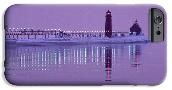 Recently Sold -  - Wintertime iPhone Cases - Icy Reflection iPhone Case by Tom Eckels