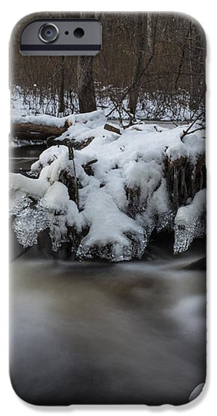 Icy Waters iPhone Case by Andrew Pacheco