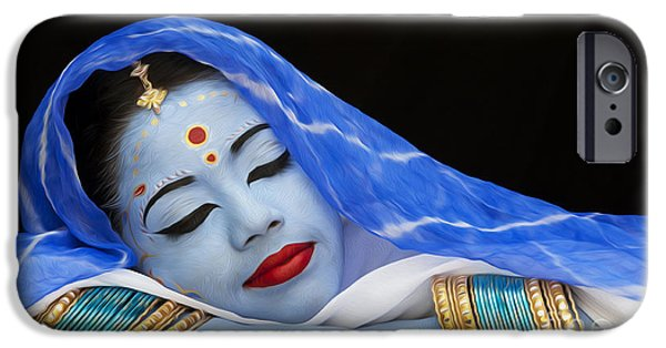 Hindu iPhone Cases - iDream iPhone Case by Tim Gainey