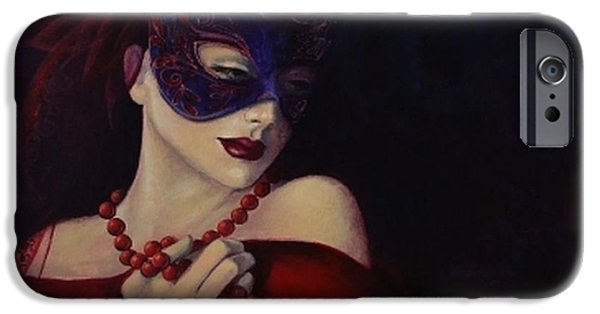 Love Laces iPhone Cases - Idyll iPhone Case by Dorina  Costras