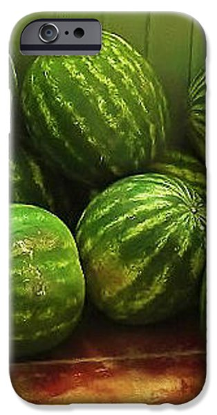 If I Had A Watermelon iPhone Case by Patricia Greer