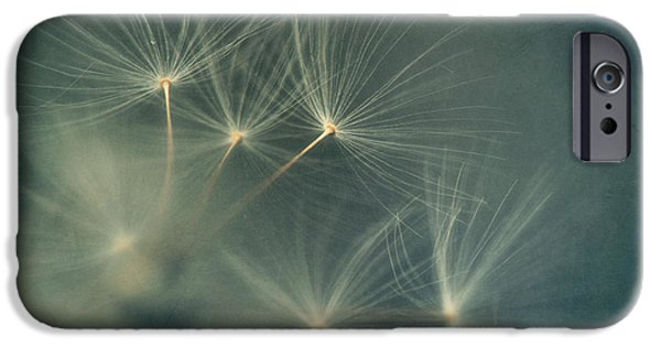 Poetic Photographs iPhone Cases - If I had one wish iPhone Case by Priska Wettstein