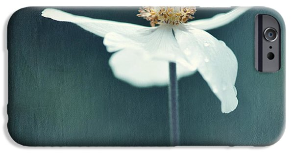 Close Up Floral Photographs iPhone Cases - If  Petals Were Wings iPhone Case by Priska Wettstein