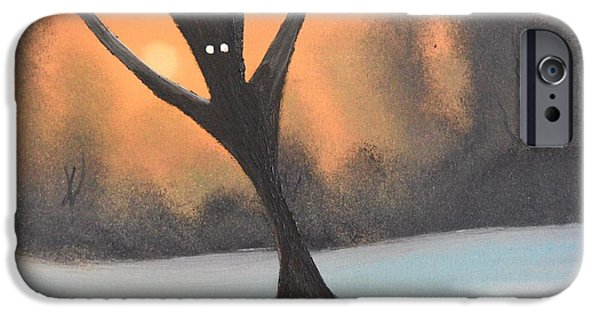 Recently Sold -  - Bob Ross Paintings iPhone Cases - If you go into the woods today iPhone Case by John Kemp