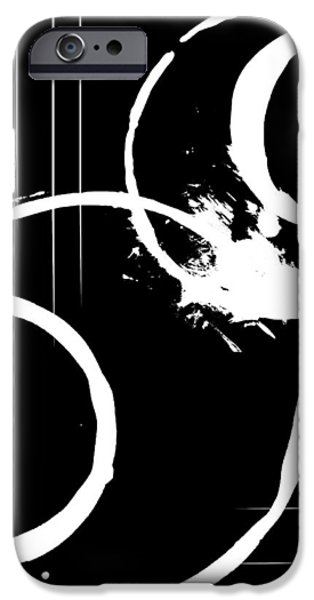 Abstract Digital Mixed Media iPhone Cases - Ignorance iPhone Case by Melissa Smith
