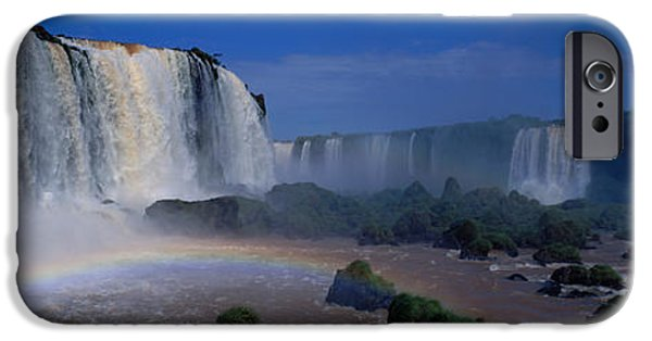 Strong America iPhone Cases - Iguazu Falls, Argentina iPhone Case by Panoramic Images