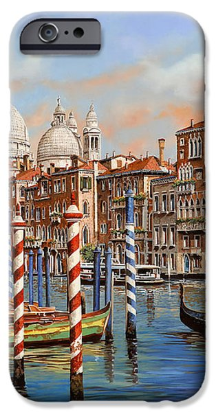 il canal grande iPhone Case by Guido Borelli