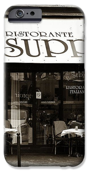 IL Suppli iPhone Case by John Rizzuto