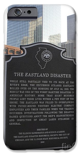 The Interests Of Society iPhone Cases - IL001 - The Eastland Disaster iPhone Case by Jason O Watson