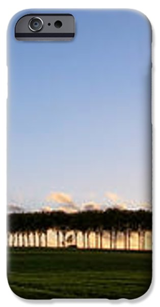 Ile de France Sunset iPhone Case by Olivier Le Queinec