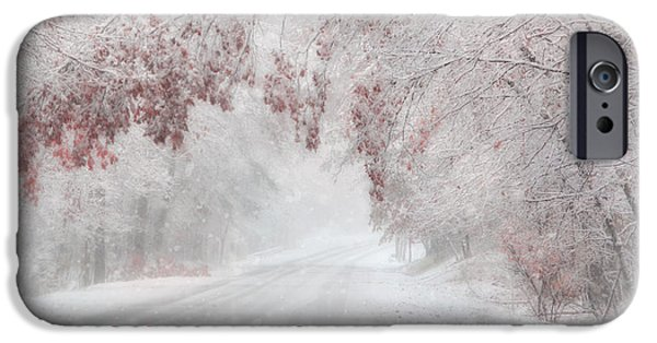 Wintry Digital iPhone Cases - Ill Be Home iPhone Case by Lori Deiter