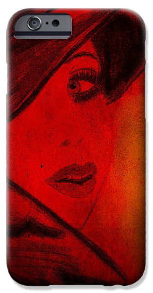 Michael Mixed Media iPhone Cases - Ill be seeing you kid iPhone Case by M and L Creations