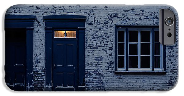 Entrance Door Photographs iPhone Cases - Ill leave the light on for you iPhone Case by Edward Fielding