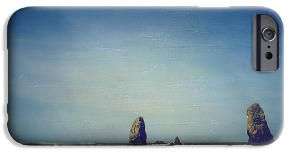 Seaside Digital Art iPhone Cases - Ill Never Forget iPhone Case by Laurie Search